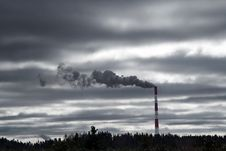Free Industrial Smog Stock Image - 12382031