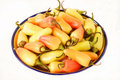 Free Bowl Of Chile Peppers Stock Image - 1243851