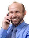 Free Man On The Phone Stock Image - 1249231