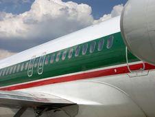 Free Passenger Plane Royalty Free Stock Photography - 1240407