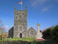 Free St Mellanus Church Stock Image - 1241111
