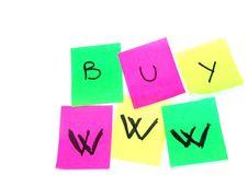 Free Posti It Royalty Free Stock Photography - 1241217