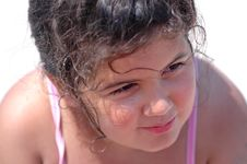 Free Child At Beach Royalty Free Stock Image - 1242126