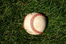 Free Baseball Royalty Free Stock Photography - 1242907