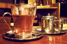 Free Red Tea On A Saturday Afternoon Royalty Free Stock Image - 1244506