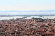 Free Aerial View Of Venice Stock Photo - 1244860