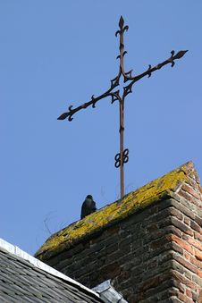 Free The Crow And The Cross Stock Images - 1244904