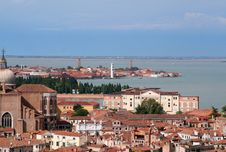 Free Aerial View Of Venice Stock Image - 1244931
