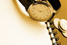 Free Business Time Background Royalty Free Stock Image - 1245196
