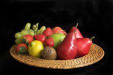 Free Fruit Platter Stock Image - 1245381