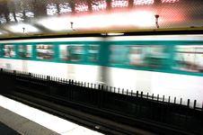 Free Underground Motion Stock Images - 1245554