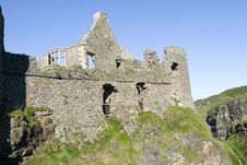 Free Dunluce Castle Stock Photo - 1246150