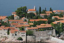 Free Montenegro, Sveti Stefan Stock Images - 1246864