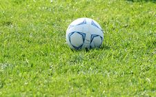 Free Soccer Ball Royalty Free Stock Photo - 1248055