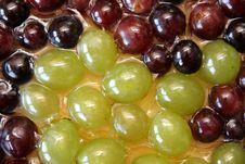 Free Grapes Cake In Closeup Royalty Free Stock Photos - 1248108