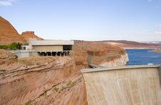 Free Glen Canyon Dam Royalty Free Stock Photo - 1248495