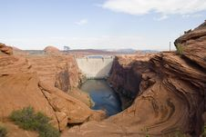 Free Glen Canyon Dam Royalty Free Stock Images - 1248499