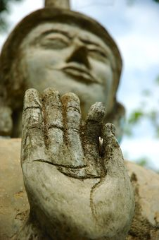 Free Buddha S Hand Royalty Free Stock Photos - 1248558