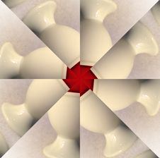 Free Eggcup Swirl Kaleidoscope Stock Photos - 1248633