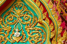 Free Buddhist Temple Details Royalty Free Stock Photos - 1248638