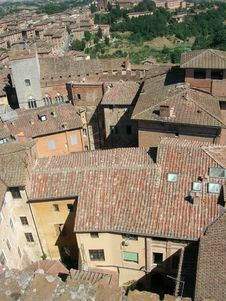 Free Siena Rooftops Royalty Free Stock Images - 1249149