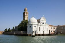 Free Church In Venice, Italy Royalty Free Stock Photo - 1249375