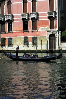 Free Venice - Gondola Series Stock Photography - 1249502