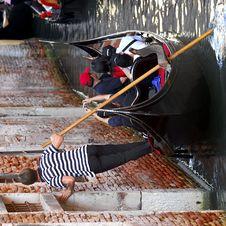 Free Venice - Gondola Series Stock Images - 1249554