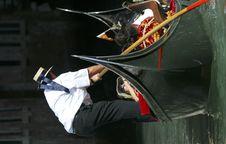 Free Venice - Gondola Series Royalty Free Stock Photography - 1249667