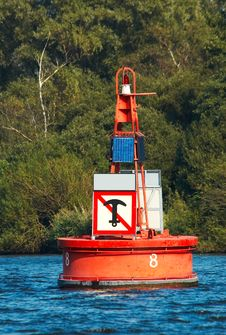 Free Red Buoy Royalty Free Stock Photos - 1249938