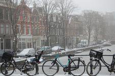 Free Winter In Amsterdam Stock Photo - 12440540