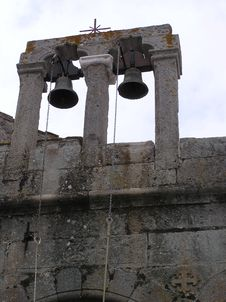 Free Bell, Church Bell, Ruins, Ancient History Stock Photography - 124418802