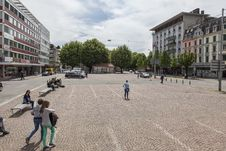 Free Town Square, Town, Public Space, Neighbourhood Stock Image - 124419721