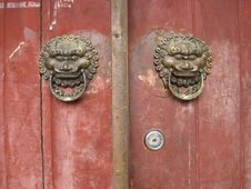 Free Old Door Royalty Free Stock Photos - 12467968