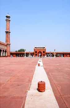 Free Jama Masjid Mosque Royalty Free Stock Images - 12470799