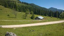 Free Mountain Pass, Grassland, Mountainous Landforms, Mountain Range Stock Image - 124708221