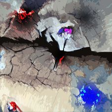 Free Art, Anime, World, Graphics Stock Images - 124708384