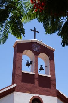Free Church Bell, Sky, Arecales, Tree Stock Photo - 124708410