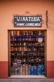 Free Liquor Store, Distilled Beverage, Retail, Glass Stock Photo - 124708720