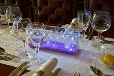 Free Wine Glass, Stemware, Purple, Centrepiece Stock Images - 124708954