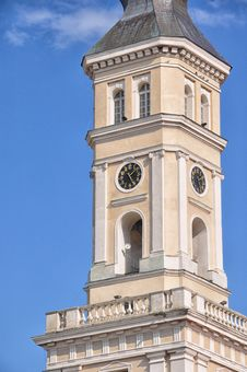 Free Clock Tower, Tower, Classical Architecture, Landmark Royalty Free Stock Photography - 124709077