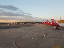 Free Airline, Sky, Airport Apron, Airliner Stock Photography - 124771582