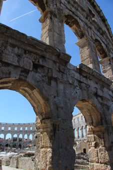 Free Ruins, Arch, Historic Site, Ancient History Royalty Free Stock Photos - 124771658