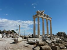 Free Historic Site, Ancient Roman Architecture, Ancient History, Ruins Stock Images - 124772404