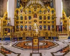 Free Altar, Cathedral, Place Of Worship, Byzantine Architecture Royalty Free Stock Images - 124772509