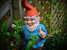 Free Garden Gnome, Lawn Ornament, Statue, Leaf Stock Image - 124939201