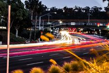 Free Car, Night, Road, Infrastructure Stock Images - 124939374
