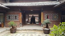 Free Courtyard, Chinese Architecture, Temple, Shrine Stock Photo - 124939640