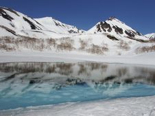 Free Mountainous Landforms, Wilderness, Mountain, Glacial Lake Royalty Free Stock Images - 124939659
