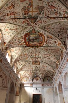 Free Ceiling, Vault, Arch, Chapel Stock Images - 124939684
